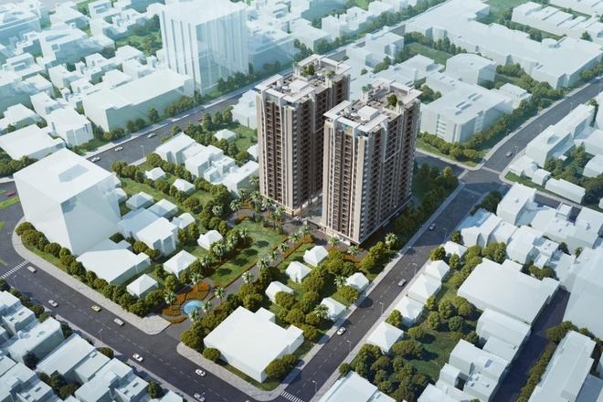 BDS khu Nam tiep tuc dan dau nguon cung tai TP HCM hinh anh 1 Phối cảnh tổng thể dự án Khu căn hộ thương mại cao cấp Luxcity tại quận 7, một trong những quận trọng điểm tại khu Nam thành phố.