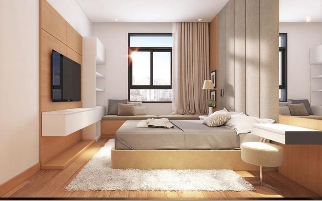 BDS khu Nam tiep tuc dan dau nguon cung tai TP HCM hinh anh 3 Hình phối cảnh phòng ngủ dự án Luxcity.