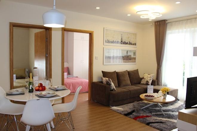 Parkview Residence mo ban can ho hoan thien cao cap hinh anh 2 Các căn hộ tại tiểu khu Parkview Residence được thiết kế rộng thoáng.