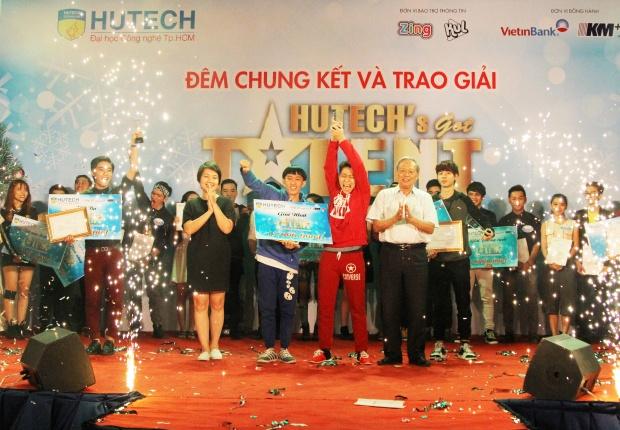 Sinh vien xay dung chien thang tai HUTECH's Got Talent 2015 hinh anh