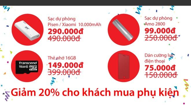 TechOne giam gia lon, tang iPhone 6S Plus mung Giang sinh hinh anh 5