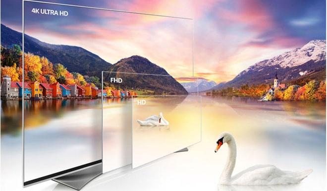 TV OLED va Super UHD 4K cua LG hut nguoi dung hinh anh 2 Chất lượng hình ảnh TV 4K của LG sắc nét và sống động hơn.
