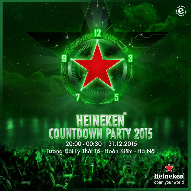 Don nam moi voi su kien 'Heineken Countdown Party​' hinh anh 1
