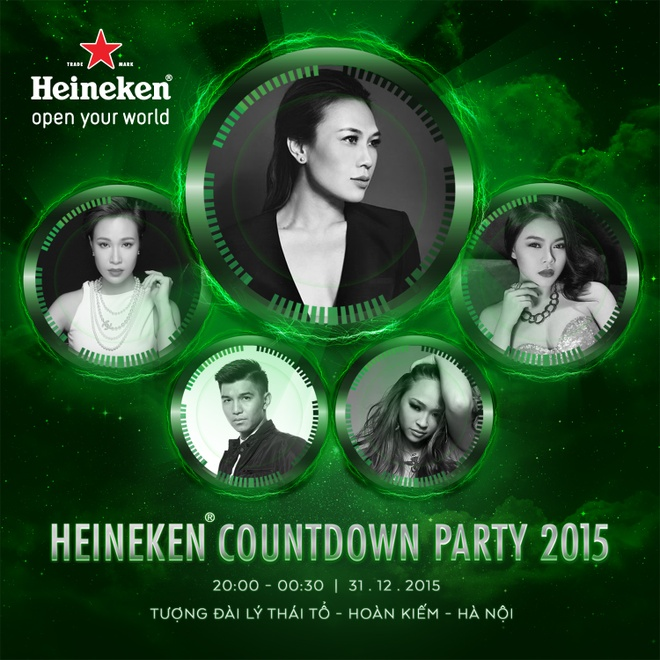 Don nam moi voi su kien 'Heineken Countdown Party​' hinh anh 2