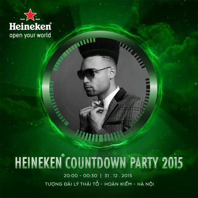 Don nam moi voi su kien 'Heineken Countdown Party' hinh anh 3