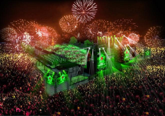 Don nam moi voi su kien 'Heineken Countdown Party' hinh anh 4