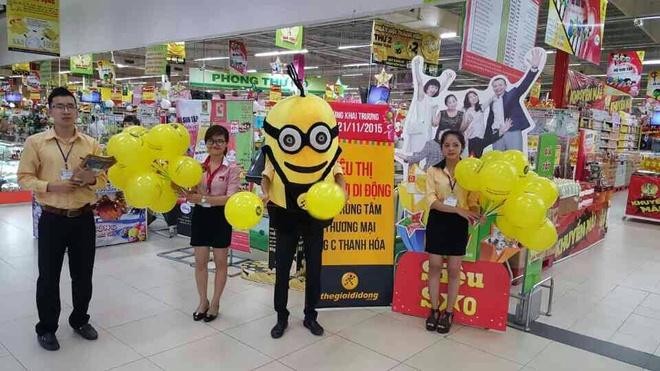 The Gioi Di Dong bat tay Big C mo chuoi 'Shop in shop' hinh anh 1