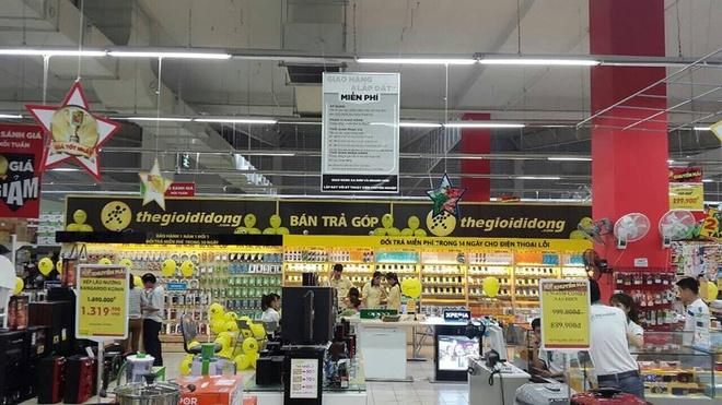 The Gioi Di Dong bat tay Big C mo chuoi 'Shop in shop' hinh anh