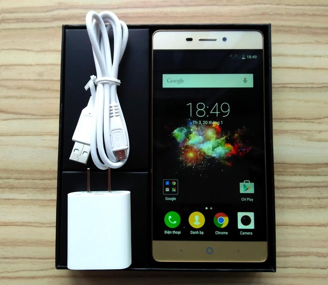 ZTE Blade Wave 3: Smartphone gia mem chip 64-bit, RAM 2 GB hinh anh 1