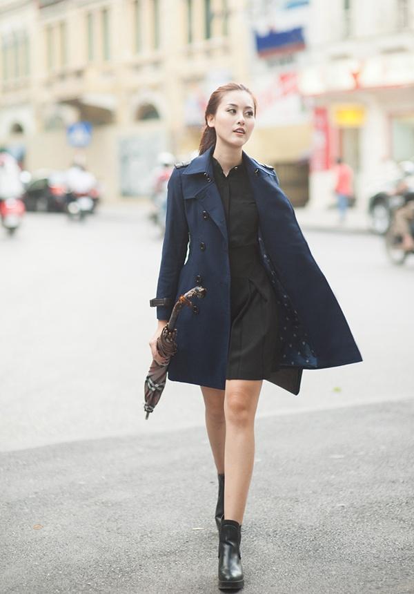 Ca tinh thoi trang cua cac fashionista Viet hinh anh 1