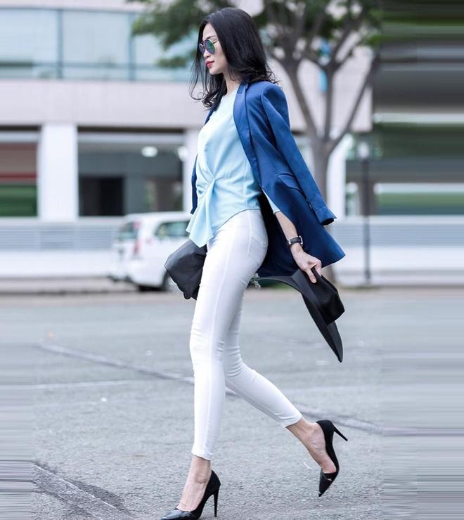 Ca tinh thoi trang cua cac fashionista Viet hinh anh 3
