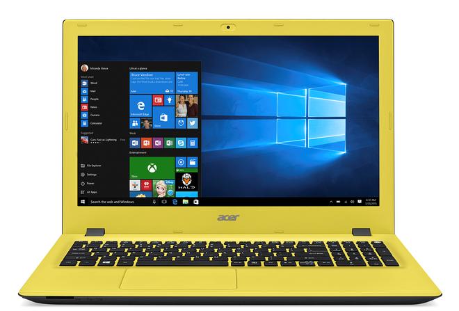 Nhung dong laptop thu hut nguoi dung cua Acer hinh anh 1