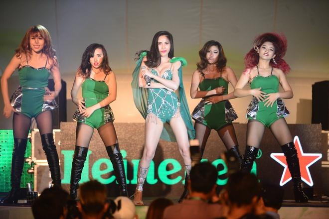 'Heineken Green Room' - su kien lan dau to chuc tai VN hinh anh 1