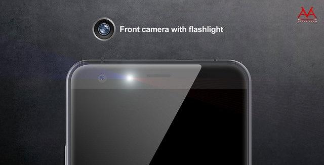 Titan Q8 tich hop den flash cho camera truoc hinh anh 2