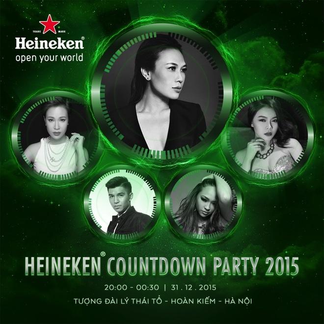 My Tam, Uyen Linh hoi ngo trong Countdown Party tai Ha Noi hinh anh 2