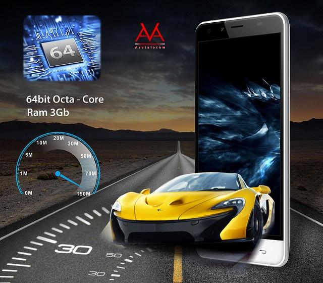 Titan Q8 - smartphone chip loi 8, RAM 3 GB hinh anh 2