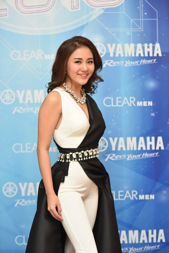 Toc Tien chay het minh trong Yamaha Clearmen Countdown 2016 hinh anh 5