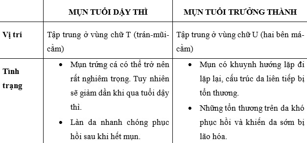 Nhung dieu can biet ve mun tuoi truong thanh hinh anh 2