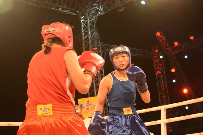 Co gai Lao Cai gianh giai vo dich boxing Let's Viet hinh anh 1