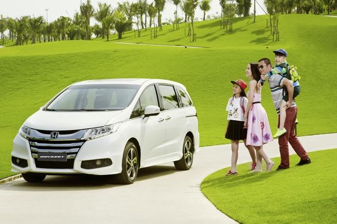 Honda Odyssey: Dong MPV danh cho doanh nhan va gia dinh hinh anh 1