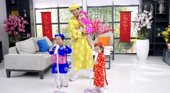 Gia dinh Ly Hai - Minh Ha tung MV don xuan hinh anh 3