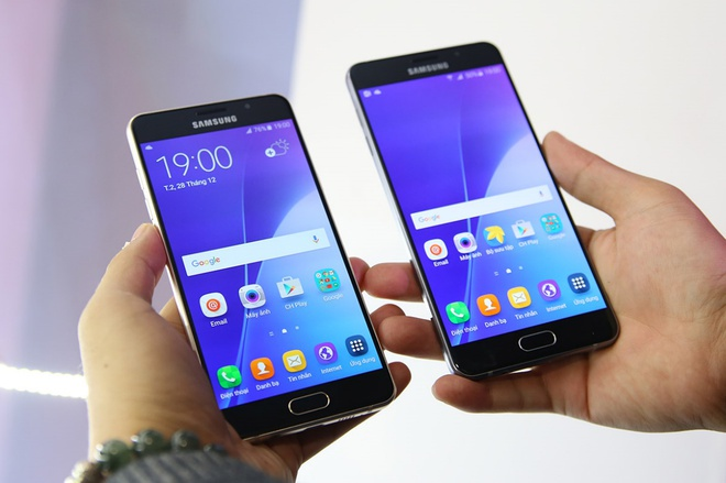 Nhung cai tien cua Samsung Galaxy A5 va A7 phien ban moi hinh anh