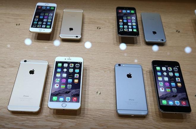 iPhone 6, iPhone 6 Plus hut nguoi mua dip cuoi nam hinh anh 3