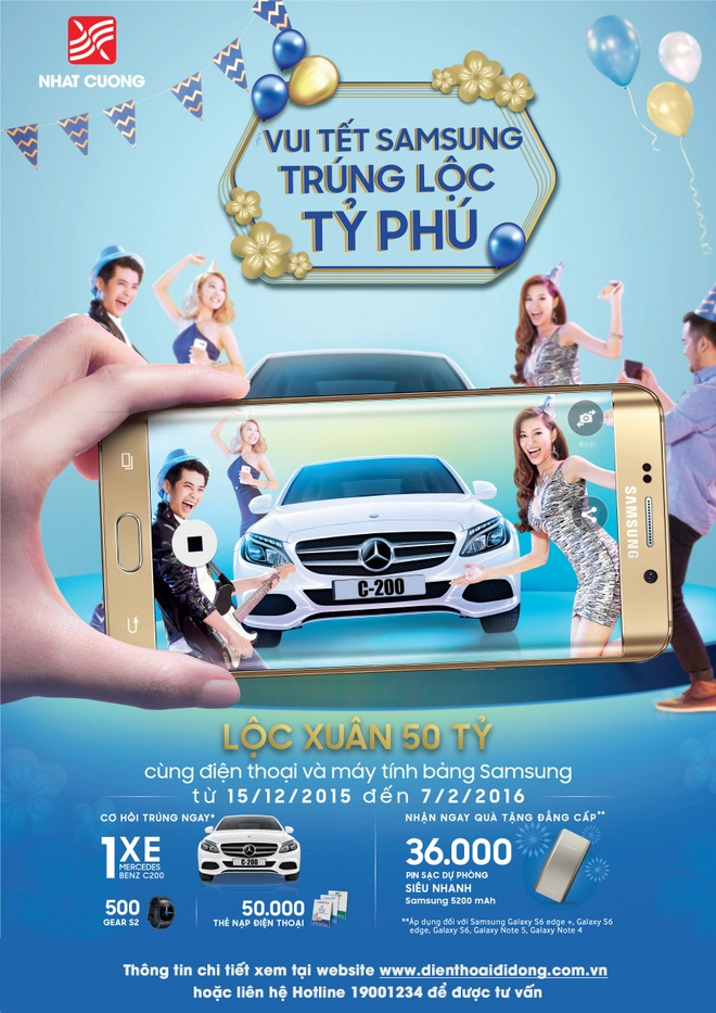 Mua Samsung trung xe hop tien ty tai Nhat Cuong Mobile hinh anh 1