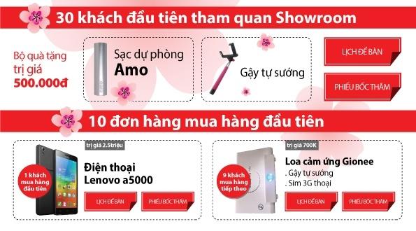 TechOne tang smartphone mung khai truong shop Ho Tung Mau hinh anh 2