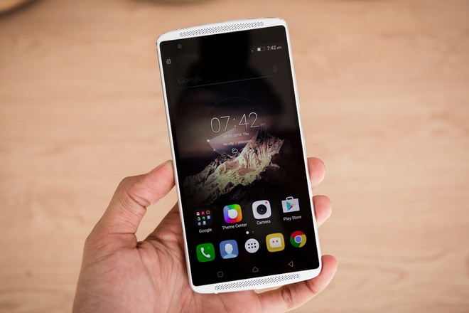 Lenovo Vibe X3: Smartphone gia re, cau hinh manh vua len ke hinh anh 2