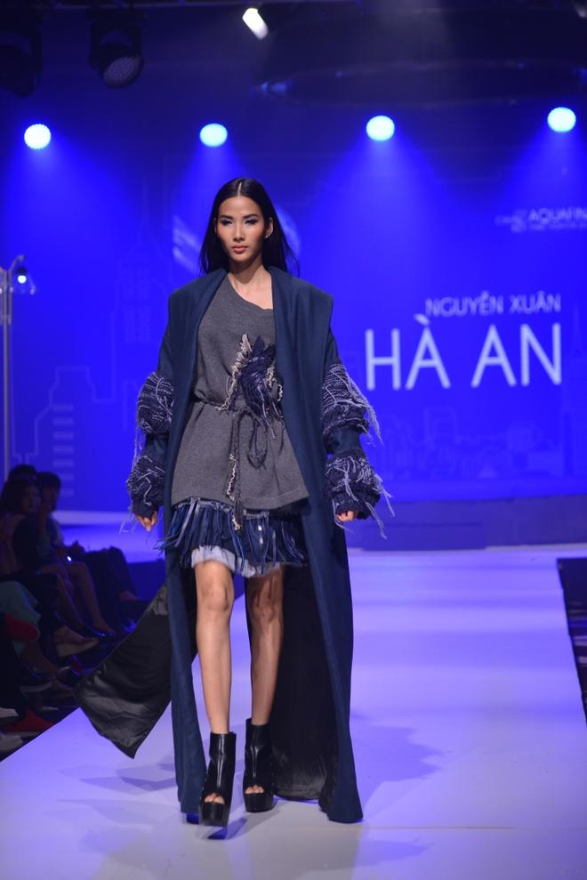 Thanh Hang tro tai mua trong chung ket Aquafina Pure Fashion hinh anh 5