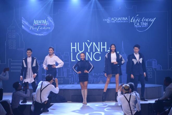 Thanh Hang tro tai mua trong chung ket Aquafina Pure Fashion hinh anh 8