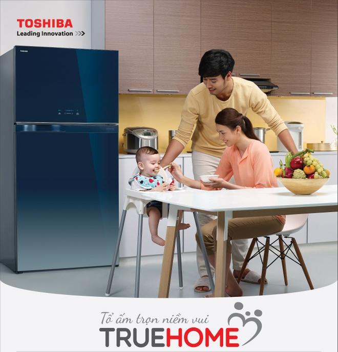 Chon tu lanh mat guong Inverter cua Toshiba cho gian bep hinh anh 2