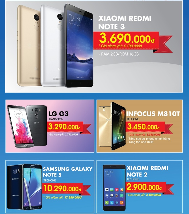 Loat smartphone ha gia manh den 50% dip Tet Nguyen dan hinh anh 2