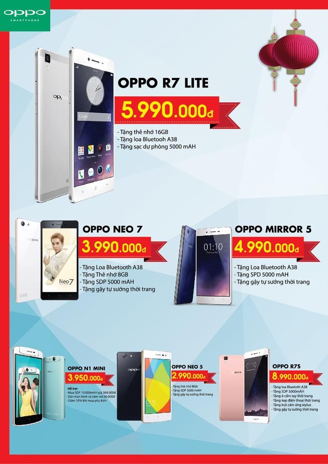 Loat smartphone ha gia manh den 50% dip Tet Nguyen dan hinh anh 1