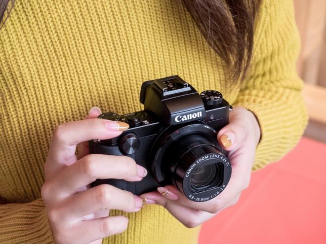 Canon G5X, G9X: May anh compact cao cap thiet ke thoi trang hinh anh