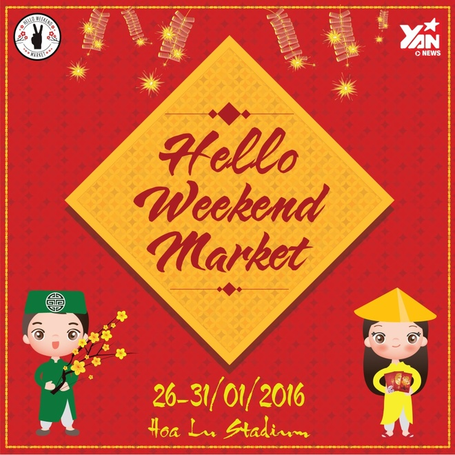 Don Tet xua - nay tai Hello Weekend Market cuoi cung cua nam hinh anh 1