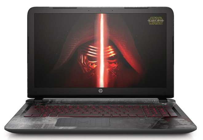 HP Star Wars Special Edition - laptop co thiet ke doc dao hinh anh