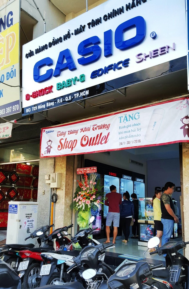 Hang hieu gia re tai CASIO Outlet Hong Bang hinh anh 4