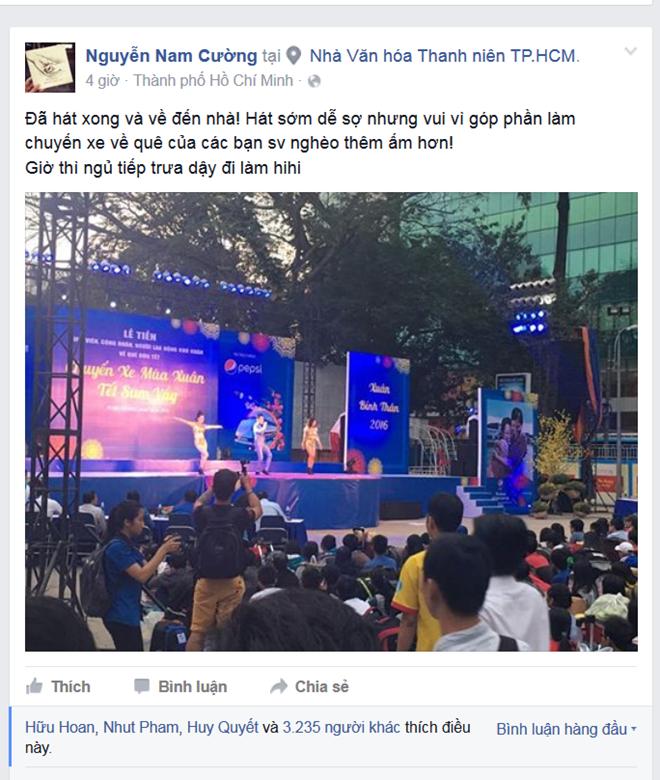 Nam Cuong, Nguyen Phi Hung tien sinh vien ve que an Tet hinh anh 3