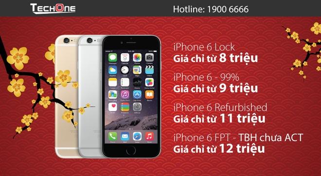 iPhone 6/6S ha gia manh hut khach dip Tet hinh anh 2