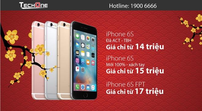 iPhone 6/6S ha gia manh hut khach dip Tet hinh anh 4