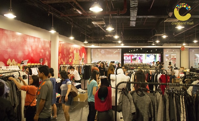 Crescent Mall san sang phuc vu xuyen Tet Binh Than hinh anh 1