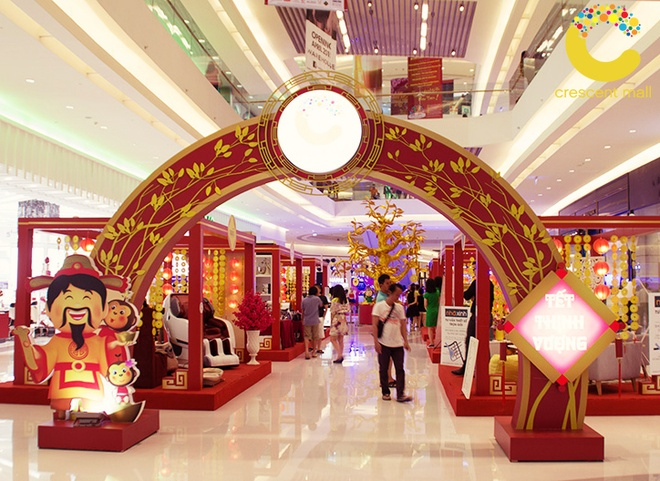 Crescent Mall san sang phuc vu xuyen Tet Binh Than hinh anh 2