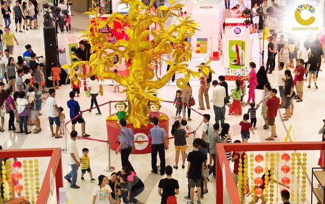Crescent Mall san sang phuc vu xuyen Tet Binh Than hinh anh 5