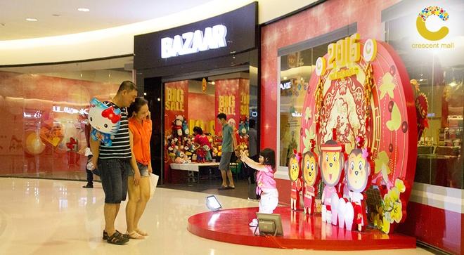 Crescent Mall san sang phuc vu xuyen Tet Binh Than hinh anh 7