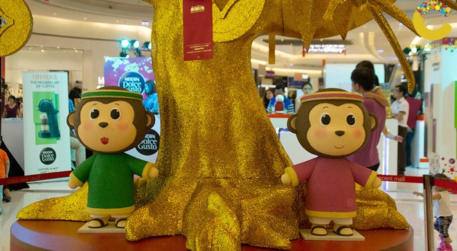 Crescent Mall san sang phuc vu xuyen Tet Binh Than hinh anh