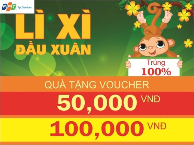 'Li xi dau xuan' danh cho khach hang cua FPT Services hinh anh 1
