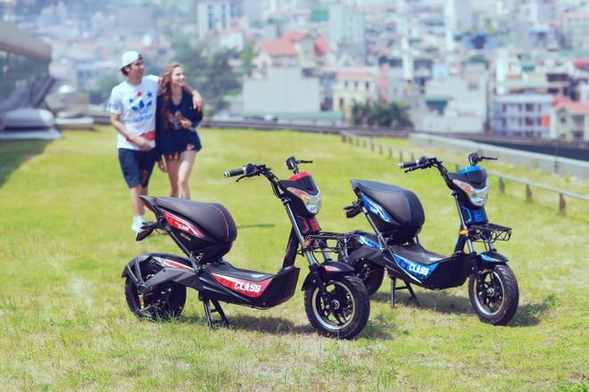 Phong cach an tuong cua xe dien HKbike Top Class hinh anh 1
