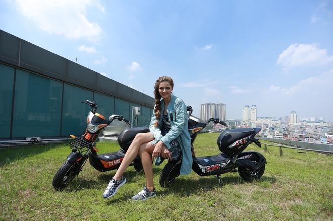 Phong cach an tuong cua xe dien HKbike Top Class hinh anh 3